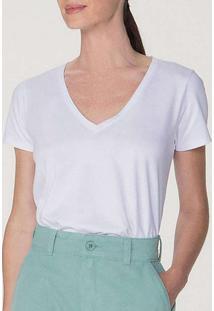 Camiseta Feminina 4Ez9 Noa-Branca