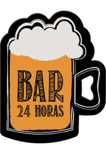 Abridor De Garrafa Ímã Bar 24 Horas - Geguton