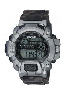 e569bc1a685 Relógio Digital Mormaii Mo1132Ae - Masculino - Cinza Escuro Preto