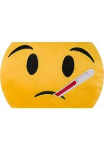 Almofada Capital Do Enxoval Emoji Doente Estampado