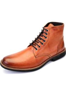 Bota The Box Project Scots Masculina - Masculino-Caramelo
