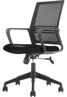 Cadeira Office Diretor Mko-024 Preta Com Rodizios - 35716 - Sun House
