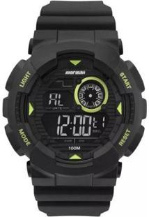 Relógio Mormaii Digital Lumi Mo3415C8V Preto Masc - Unissex-Preto