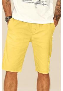Bermuda Amarelo Sarja Enfim