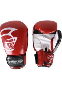 Luvas De Boxe Pretorian Elite Training - 16 Oz - Adulto - Vermelho