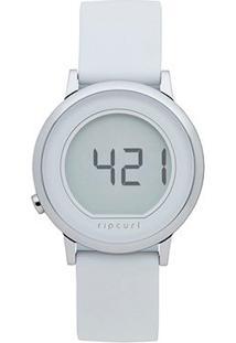 Relógio Digital Rip Curl Stainless Steel Feminino - Feminino-Branco