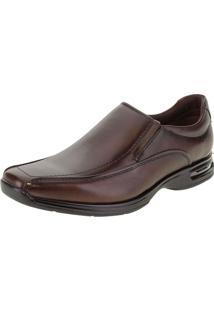 Sapato Masculino Social Air Spot Democrata - 448027 Café 01 38