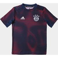 31a406d4562 Camisa Bayern De Munique Infantil 19 20 Pré-Jogo - Adidas - Masculino