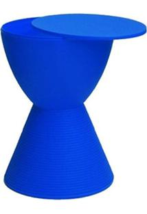 Banqueta Pawn Com Tampo Azul - 13333 - Sun House