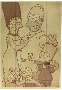 Quadro Família Simpsons