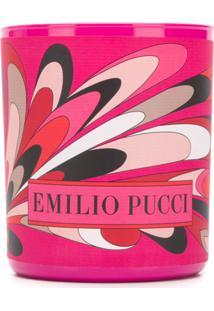 Emilio Pucci Vela Com Logo - Rosa