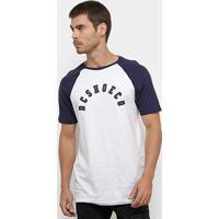 3eee7d8c7b Camiseta Dc Shoes Especial Pack Raglan Masculina - Masculino-Off White