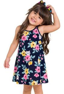 Vestido Infantil Kyly Meia Malha 110022.40007.2