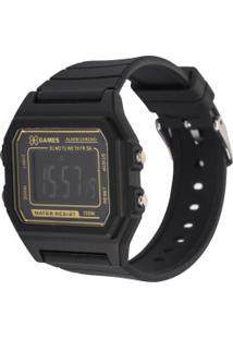 Relógio Digital X Games Xgppd110 - Unissex - Preto
