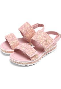 Papete Bibi Glitter Rosa
