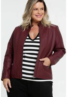 Jaqueta Feminina Bolsos Plus Size Marisa