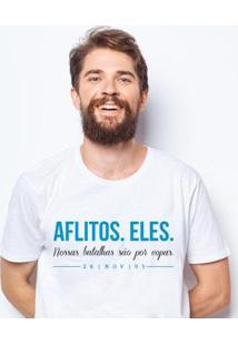 Camiseta Zé Carretilha - Gre-Tricolor-Aflitoseles Masculina - Masculino