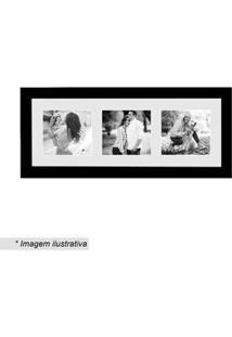 Kapos Painel Multifotos Insta Preto & Branco 15X38X1,5Cm