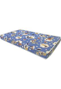 Colchão Infantil Baby Physical D18 (10X130X70) Azul