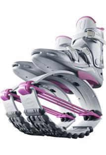 Bota Kangoo Jumps Kj-Xr3 Le Branco/Pink - P