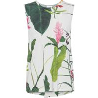 a6a511d07 Regata Feminina Sleeveless Floral - Off White