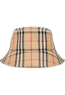 Burberry Vintage Check Bucket Hat - Neutro