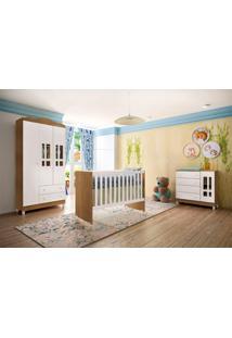 Dormitório Ariel Amadeirado Rústico Carolina Baby