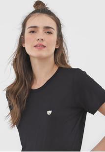Camiseta Coca-Cola Jeans Logo Preta
