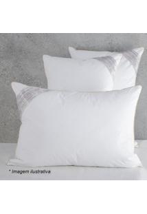 Travesseiro Toque De Pluma- Branco- 70X50Cm- 233Buddemeyer