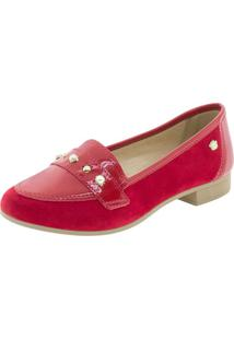 Sapato Infantil Feminino Pink Cats - W9663A Vermelho 29