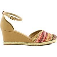 3505202c6 Sandália Marrom Via Marte feminina   Shoes4you