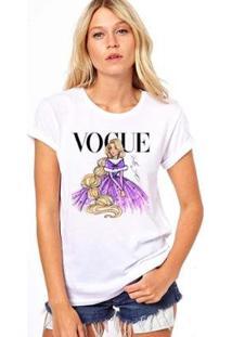 Camiseta Coolest Rapunzel Vogue Feminina - Feminino