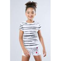9a3fa78d80 Camiseta Infantil Listra Pintura Reserva Mini Feminina - Feminino