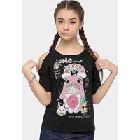 8a0098996 Camiseta Infantil Colcci Fun Estampada Feminina - Feminino