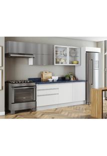 Cozinha Compacta Bbb 7 Pt 3 Gv Branca E Azul