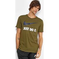 badebdc136 Netshoes. Camiseta Nike New Jdi Swoosh Masculina ...