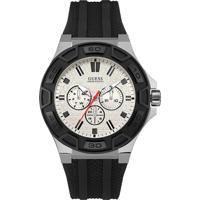 7aacfeb5b205d Relógio Guess Masculino Borracha Preta - W0674G3