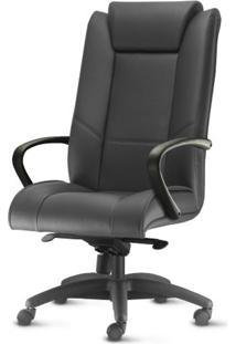 Cadeira New Onix Presidente Base Nylon Arcada Preta - 54146 Sun House