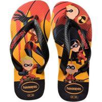 9936ead60 Chinelo Infantil Havaianas Incríveis Masculino - Masculino-Preto+Vermelho