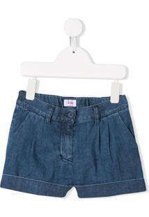 Il Gufo Short Jeans - Azul
