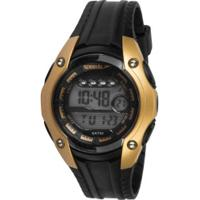 3efaaadf532 Centauro. Relógio Digital Speedo 81169L0 - Feminino - Preto Ouro