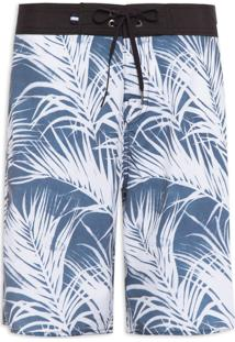 Bermuda Masculina Palmeira - Azul