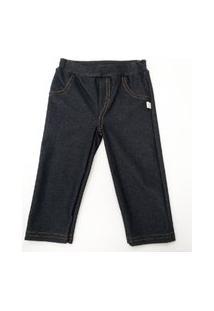 Calça Jeans Masculina Para Bebê - Pingo Lelê Pingo 65800 Preto