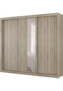 Guarda-Roupa Casal Com Espelho Astor 3 Pt 4 Gv Anis