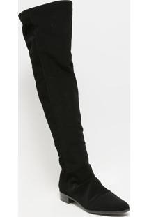 Bota Over The Knee Acamurã§Ada- Preta- Salto: 3Cmferrucci