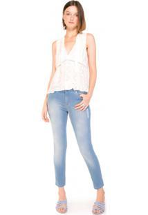 Calça Jeans Skinny Emana Rasgo