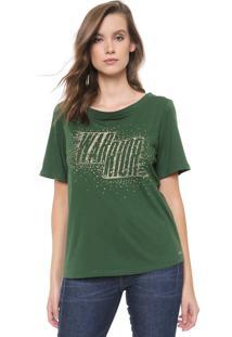 Camiseta Triton Bordada Verde