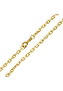 Corrente Cartier Em Ouro Amarelo De 60 Cm