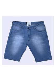 Bermuda Jeans Clara Rick Azul