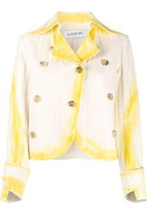 Lanvin Jaqueta Tie-Dye - Amarelo